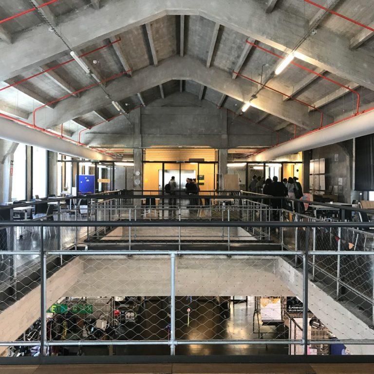 Espacio de coworking en Medialab